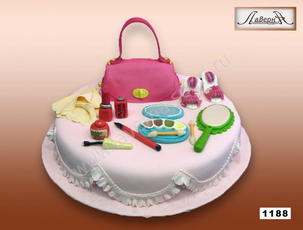 Дизайн торта для девочки
